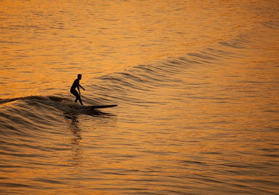Surfing Uvita