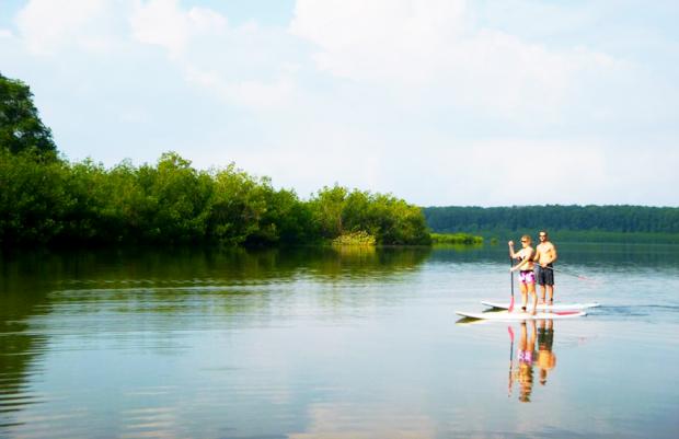 uvita 360 green paradise sup kayak surf