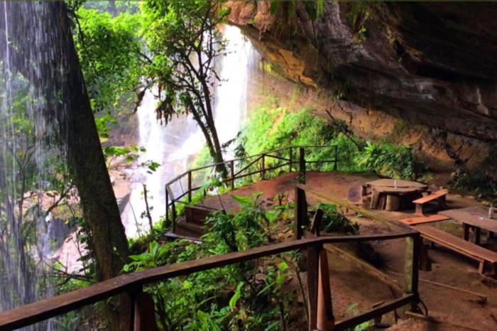 Overnight Waterfall Cave