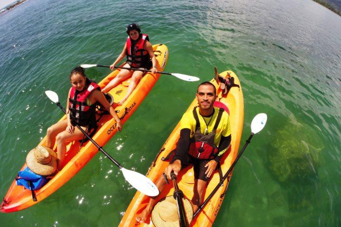 Snorkeling Kayak Tour